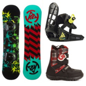 K2 Mini Turbo Kids Complete Snowboard Package 2013, 130cm, medium