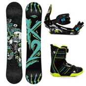 K2 Vandal Kids Complete Snowboard Package 2013, 137cm, medium