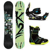 K2 Vandal Kids Complete Snowboard Package 2013, 142cm, medium