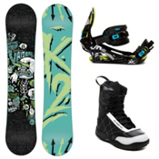 K2 Vandal Kids Complete Snowboard Package 2013, 132cm, medium
