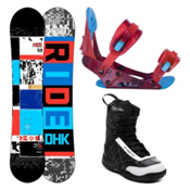 Ride DHK Kids Complete Snowboard Package 2013, 138cm, medium