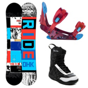 Ride DHK Kids Complete Snowboard Package 2013, 142cm, medium
