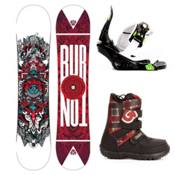 Burton TWC Smalls Kids Complete Snowboard Package 2013, 120cm, medium