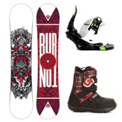 Burton TWC Smalls Kids Complete Snowboard Package 2013, 132cm, medium