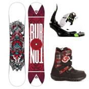 Burton TWC Smalls Kids Complete Snowboard Package 2013, 136cm, medium