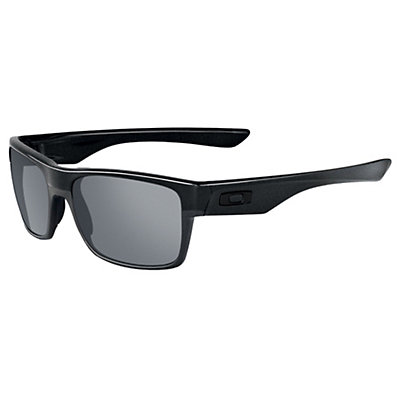 Oakley TwoFace Sunglasses, Matte Black, large