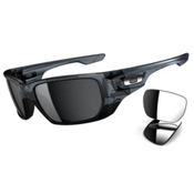 Oakley Polarized Style Switch Sunglasses, Crystal Black, medium