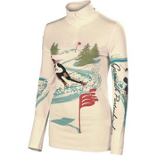 Neve Designs Ski Racer Zip Neck Womens Long Underwear Top, , medium