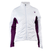Spyder Spinsulator Insulator Womens Jacket, White-Gypsy, medium