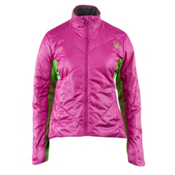 Spyder Spinsulator Insulator Womens Jacket, Sassy Pink-Green Flash, medium