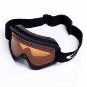 Oakley XS O Frame Kids Goggles, Black-Persimmon, medium
