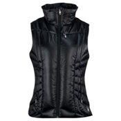 Spyder Timeless Down Womens Vest, Black-Black, medium