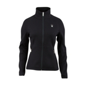 Spyder Core Virtue Full Zip Womens Sweater, Black, medium