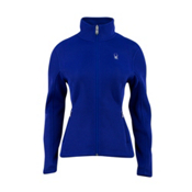 Spyder Core Virtue Full Zip Womens Sweater, Blue My Mind, medium