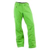 Spyder Thrill Tailored Fit Short Womens Ski Pants, Green Flash, medium