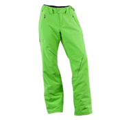 Spyder Thrill Tailored Fit Womens Ski Pants, Green Flash, medium