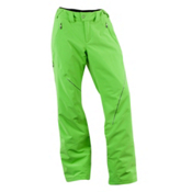 Spyder Thrill Tailored Fit Long Womens Ski Pants, Green Flash, medium