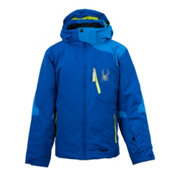 Spyder Cosmos Boys Ski Jacket, Just Blue-Collegiate-Sharp Lim, medium
