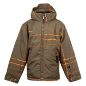 Spyder Armageddon Boys Ski Jacket, Sergeant Plaid X-Squeeze, medium