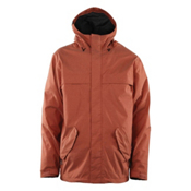ThirtyTwo Sonora Mens Shell Snowboard Jacket, Burnt Orange, medium