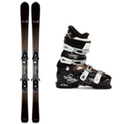 Salomon Origins Lava Womens Ski Package, , medium