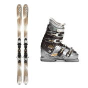 K2 SuperSmooth Womens Ski Package, , medium