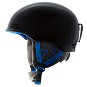 K2 Rival Pro Audio Helmet, Black Blue, medium