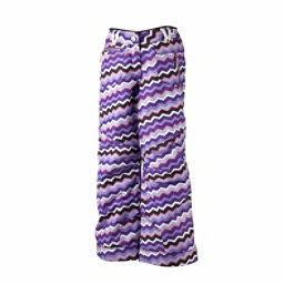 Obermeyer Twilight Teen Girls Ski Pants, Regal Zigzag Print, 256