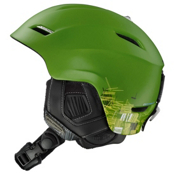 Salomon Phantom 10 Custom Air Helmet 2013, Green Matte, medium
