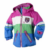 Obermeyer Posh Toddler Girls Ski Jacket, Blue Ray, medium