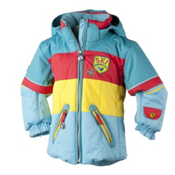Obermeyer Posh Toddler Girls Ski Jacket, Aqua, medium