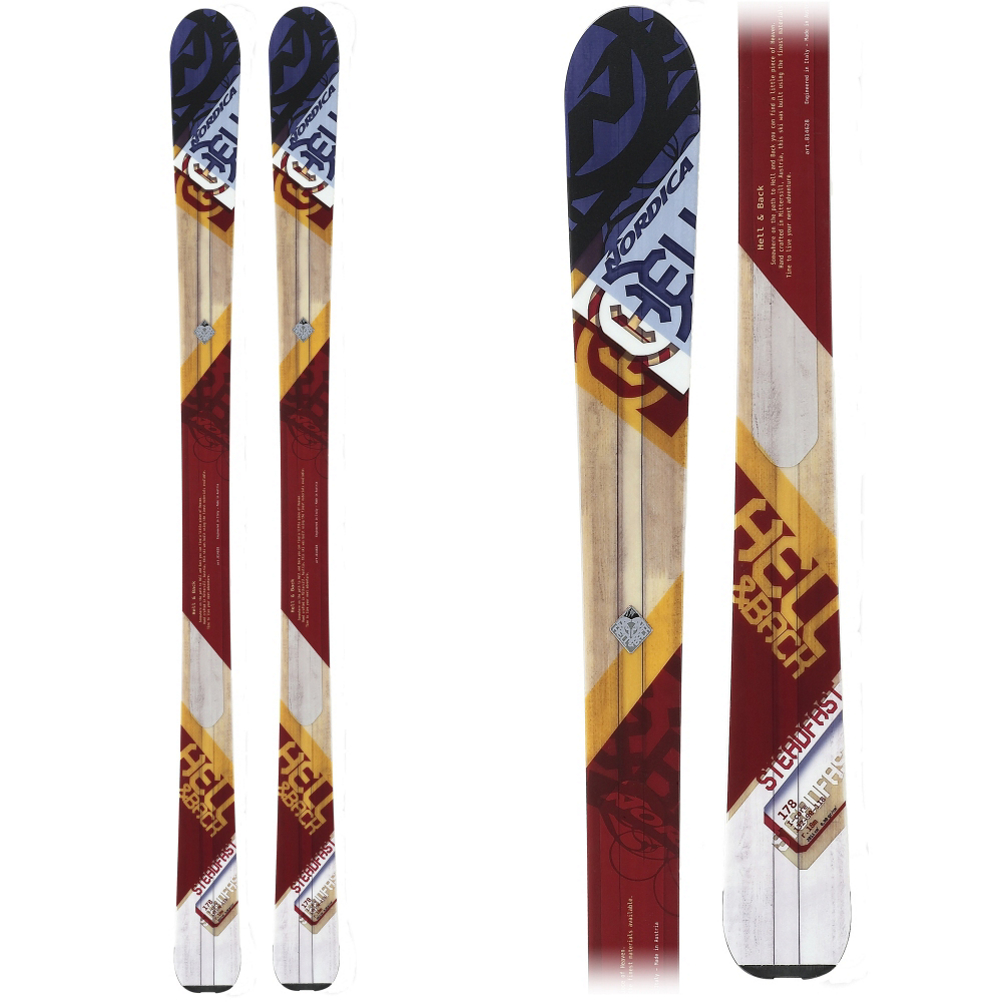 Nordica Steadfast Skis 2014