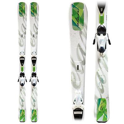 Elan Delight QT Womens Skis with ELW 9.0 QT Bindings, , large