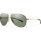 Smith Ridgeway Polarized Sunglasses, Gold, medium