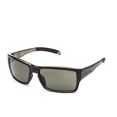 Smith Outlier Polarized Sunglasses, Black-Polarized Gray Green, viewer