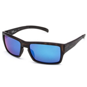Smith Outlier Polarized Sunglasses, Matte Tortoise-Polar Blue Sol, medium