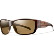 Smith Frontman Polarized Sunglasses, Brown Stripe-Polarized Brown, medium