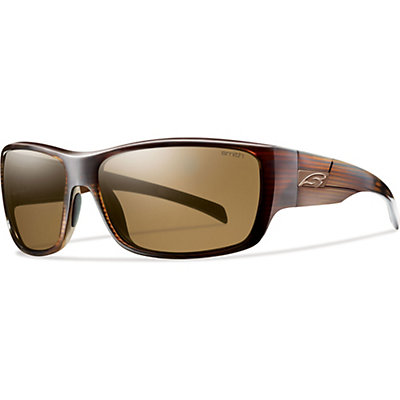 Smith Frontman Polarized Sunglasses, Brown Stripe-Polarized Brown, large