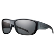 Smith Frontman Polarized Sunglasses, Black-Polar Gray Green, medium