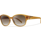 Smith Lyric Polarized Womens Sunglasses, Honey, medium