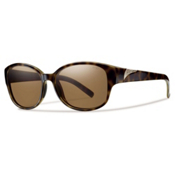 Smith Lyric Polarized Womens Sunglasses, Tortoise, medium