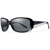 Smith Shorewood Polarized Womens Sunglasses, Black, medium