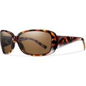 Smith Shorewood Polarized Womens Sunglasses, Vintage Tortoise, medium