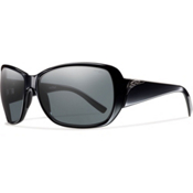 Smith Hemline Polarized Womens Sunglasses, Black, medium