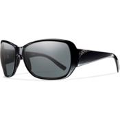 Smith Hemline Polarized Womens Sunglasses, Black, medium