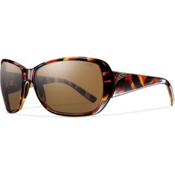 Smith Hemline Polarized Womens Sunglasses, Vintage Tortoise, medium