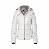 Bogner Kylie D Womens Insulated Ski Jacket, Off White, medium