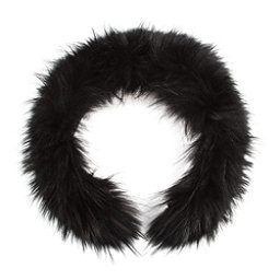 Bogner Hood Fur 2, Black, 256