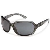 SunCloud Empress Sunglasses, Black Grid, medium