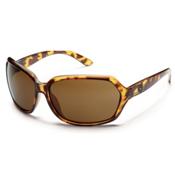 SunCloud Empress Sunglasses, Tortoise, medium